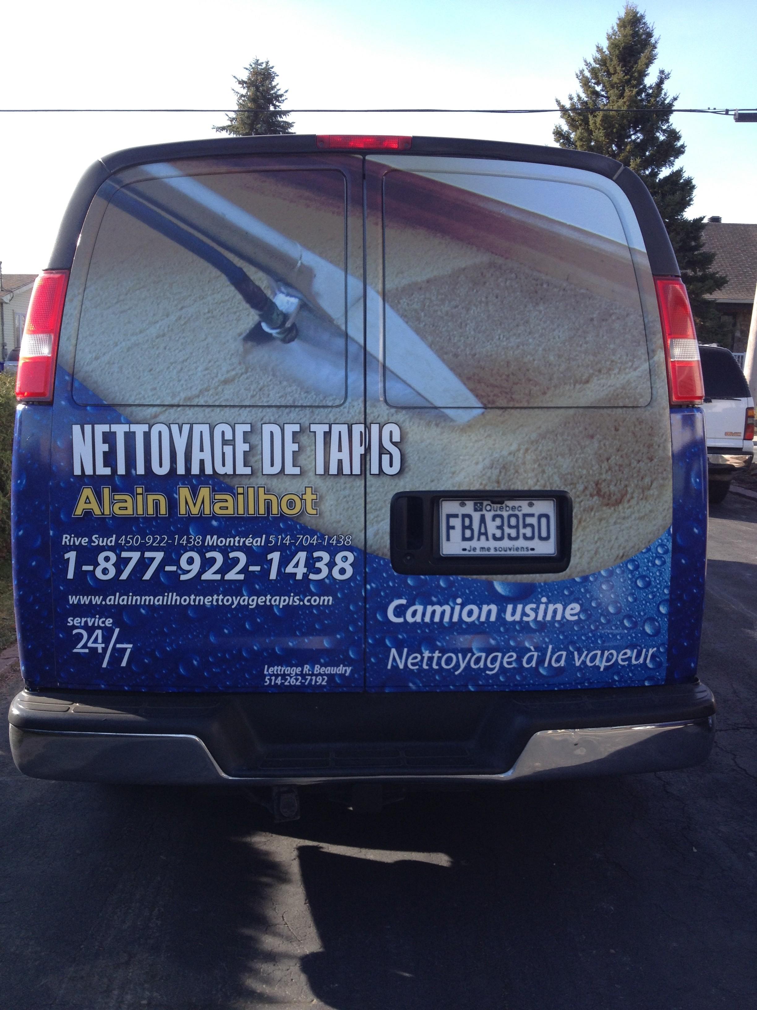 Alain Mailhot : Nettoyage de tapis